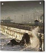 Bray Promenade, Bray, County Wicklow Acrylic Print