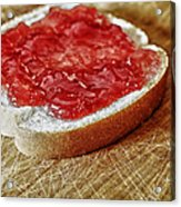 Bread And Jelly Acrylic Print