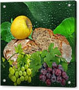 Bread Acrylic Print by Manfred Lutzius