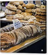 Bread Market Acrylic Print by Heather Applegate
