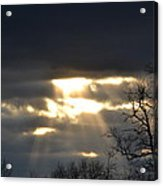 Break In The Clouds Acrylic Print