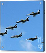 Breitling In The Air 04 Acrylic Print