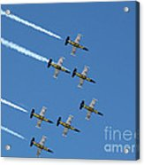 Breitling In The Air Acrylic Print