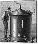Brewery Vat, 19th Century Acrylic Print by Cci Archives