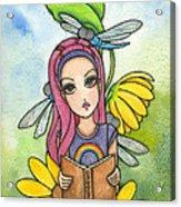 Brianna's Dragonflies Acrylic Print