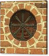 Brick And Iron Acrylic Print