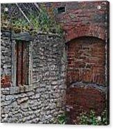 Brick And Stone England Acrylic Print