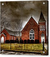 Brick Church Acrylic Print