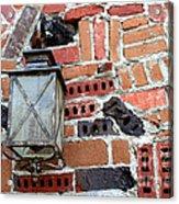 Brick Light Acrylic Print