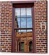 Bricks In Bricks Acrylic Print