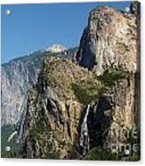 Bridal Veil In The Distance Acrylic Print