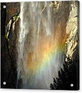 Bridal Veil Rainbow Acrylic Print