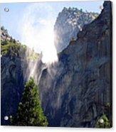 Bridalveil Falls In Yosemite Acrylic Print