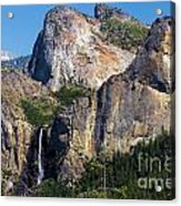 Bride At Yosemite Acrylic Print