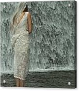 Bride Below Dam Acrylic Print