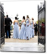 Bridesmaids Acrylic Print