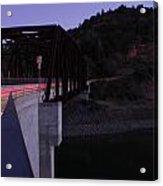 Bridge At Dusk Acrylic Print