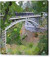 Bridge At Lake Park Acrylic Print