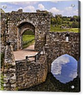 Bridge At Leeds Castle Acrylic Print