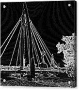 Bridge Electrified Acrylic Print by David Alvarez