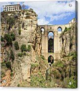 Bridge In Ronda Acrylic Print