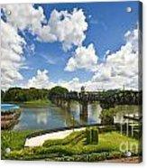 Bridge On The River Kwai Thailand Acrylic Print