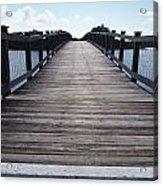 Bridge Over Calm Waters Acrylic Print