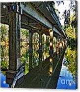 Bridge Over Ovens River Acrylic Print by Kaye Menner