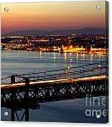 Bridge Over Tagus Acrylic Print