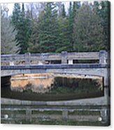 Bridge Reflection Acrylic Print