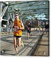 Bridge Runner Acrylic Print