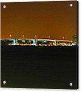 Bridge To Sand Key Acrylic Print