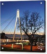 Bridge To Twilight Acrylic Print