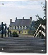 Bridge To Whalehead Acrylic Print