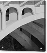 Bridged Trifecta Acrylic Print by Artist Orange