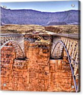 Bridges At Lees Ferry Acrylic Print