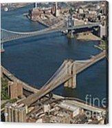 Bridges Of New York City Acrylic Print