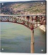Bridging The Canyon Acrylic Print