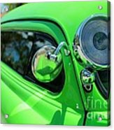 Bright Green Acrylic Print