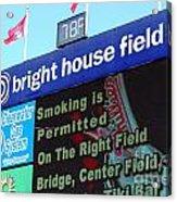 Bright House Field Acrylic Print