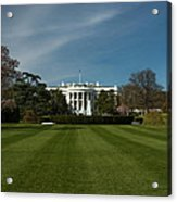 Bright Spring Day At The White House Acrylic Print