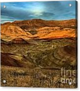 Brightly Painted Hills Acrylic Print