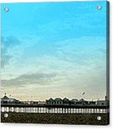 Brighton Pier Panorama Acrylic Print