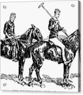 Brighton Polo Club, 1877 Acrylic Print