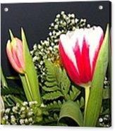 Brilliant Flowers Acrylic Print by Jose Lopez