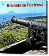 Brimstone Fortress Poster Acrylic Print