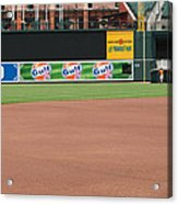Bringing Out The Batting Cage Acrylic Print