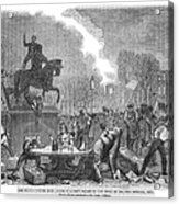 Bristol: Reform Riot, 1831 Acrylic Print