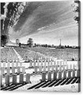 British Cemetery Acrylic Print by Simon Marsden