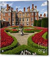 British Garden  Acrylic Print